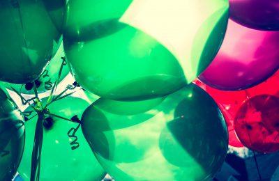 Balony z helem – modna dekoracja na wiele okazji